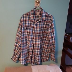 Mens Old Navy flannel plaid shirt size XL